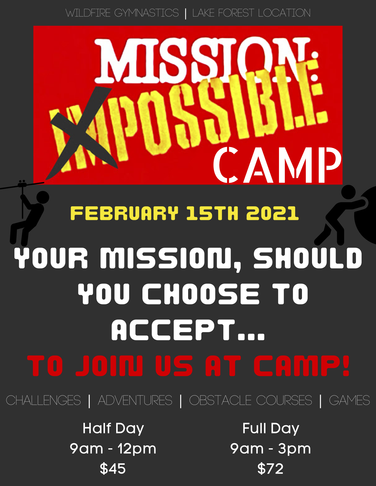 Mission Impossible Camp 2021