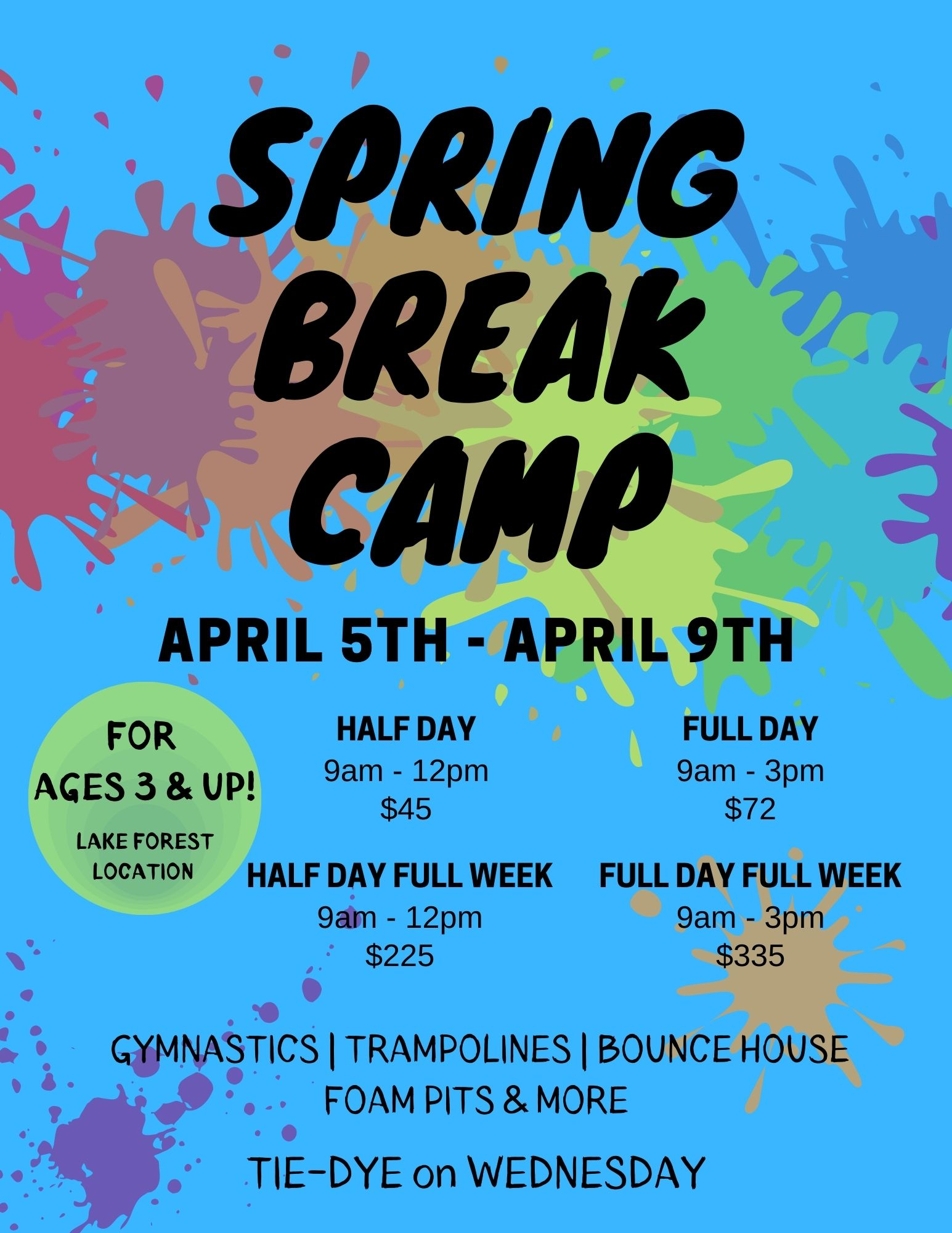 Spring Break Week Two 2021